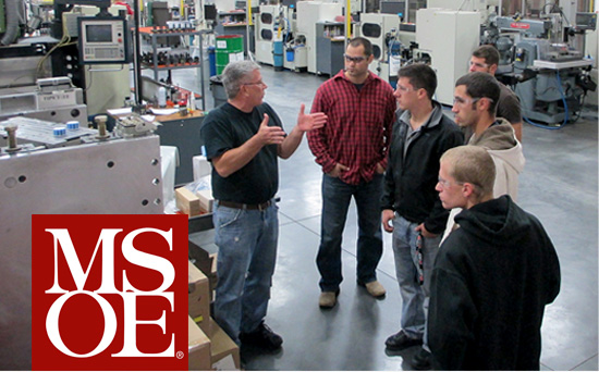 MSOE Students Visit MGS